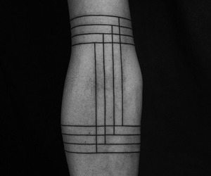 tattoo and lines image