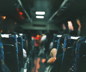 bus, indie, and night image
