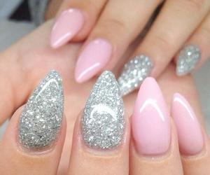 nails, gel nails, and nailart image