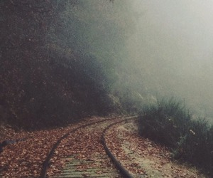 alone, horror, and autumn image