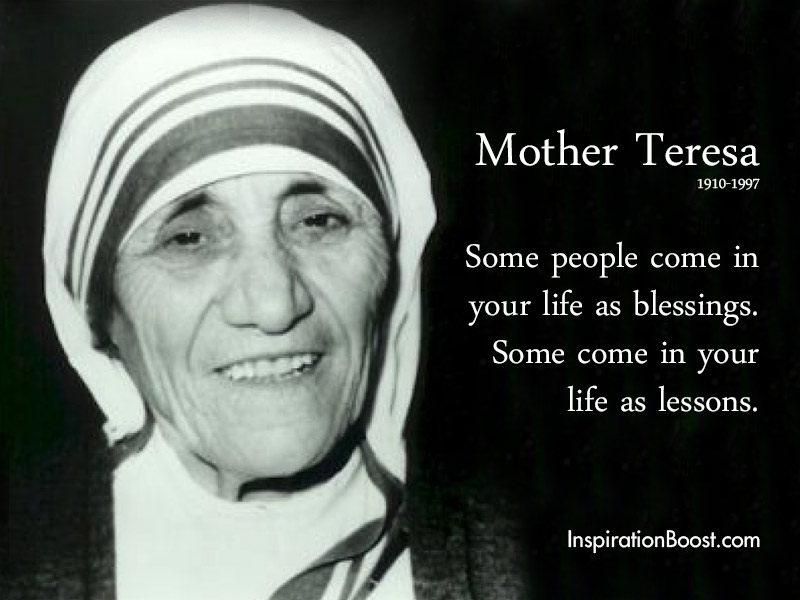 Mother Teresa People Quotes Inspiration Boost Inspiration Boost