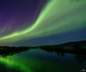 arctic, astronomy, and night image