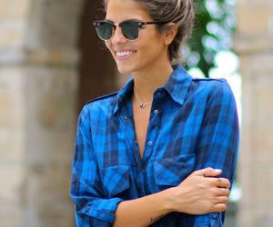 fashion, hair, and sunglasses image