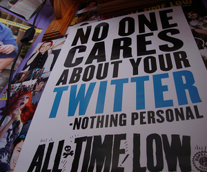 all time low, atl, and nothing personal image