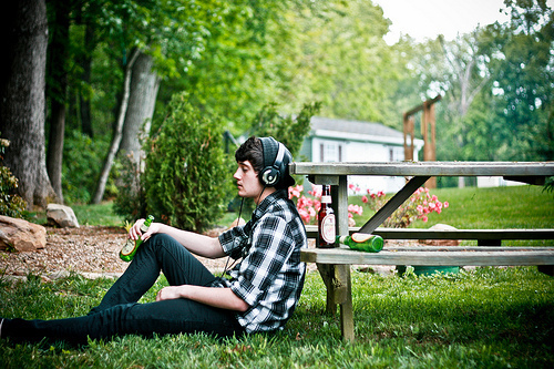 boy, music, and photography image