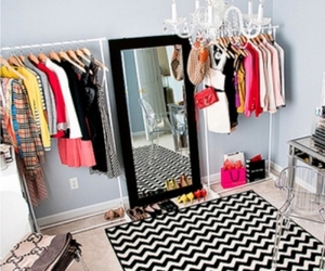fashion, room, and closet image