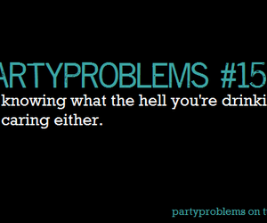 alcohol, party problems, and drunk image
