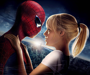 emma stone, love, and peter parker image