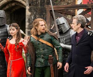 doctor who, robin hood, and peter capaldi image