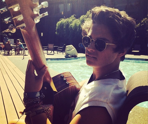 the vamps, bradley simpson, and guitar image