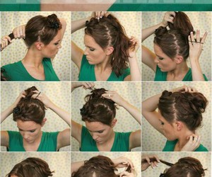 hairstyles and bun hairstyles image
