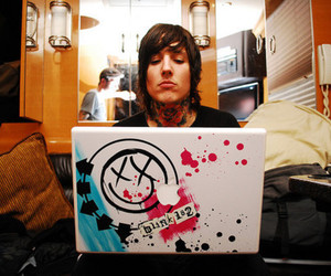 blink 182, oliver sykes, and bmth image