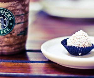 coffee, cupcakes, and food image