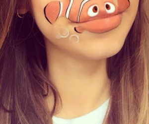 nemo, lips, and disney image