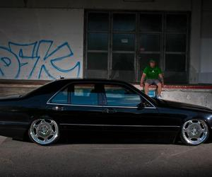 classic, low, and mercedes benz image