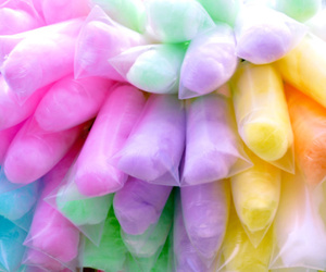 cotton candy, food, and candy image