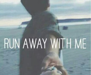 love, run, and run away image