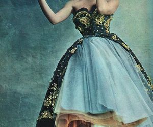 1950's, perfect color, and Christian Dior image