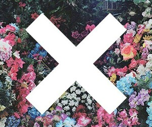 flowers, grunge, and x image