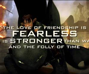 friendship, dragon, and fearless image