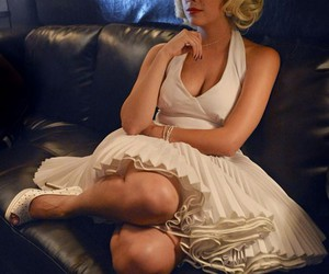 Halloween, pretty little liars, and Marilyn Monroe image