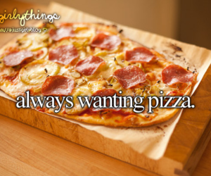 pizza, just girly things, and food image