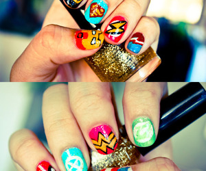 badass, nails, and cute image