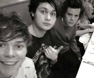 5sos, Harry Styles, and one direction image