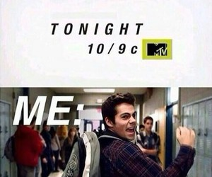 teen wolf, stiles, and tonight image
