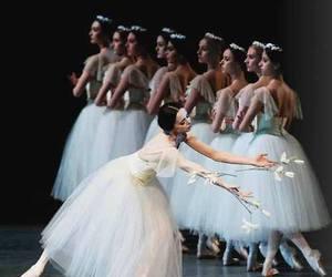 ballerina, beautiful, and dancing image