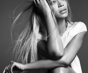 black and white, music, and beyoncé image