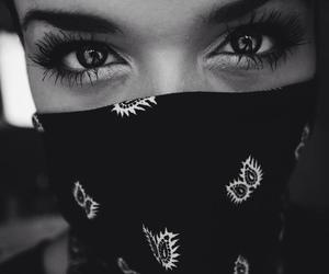 eyes, girl, and thug image