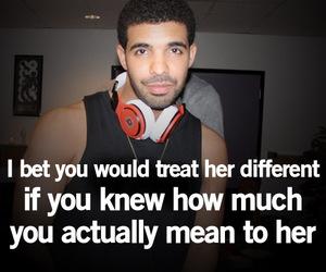 Drake, treat, and love image