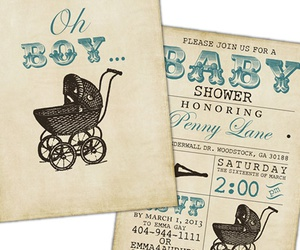 boy, baby shower, and babies image