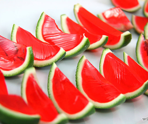 food, watermelon, and yummy image