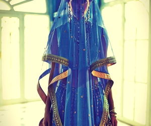 beautiful, blue, and indian image