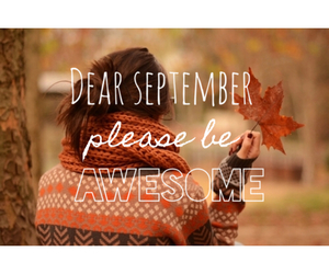 autumn, September, and dearseptember image