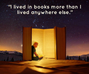 book, live, and Neil Gaiman image