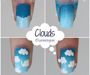 nails and clouds image