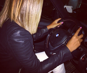 bmw, cars, and girls image