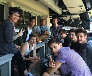 midnight red and magcon image