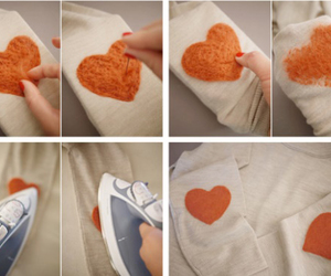 diy, Easy, and heart image