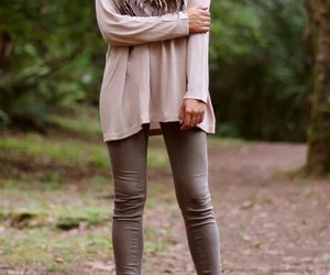 clothes, scarf, and clothing image