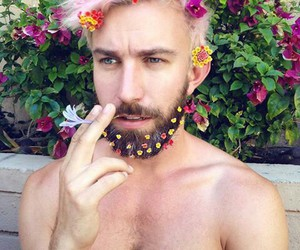 flowers, boy, and tumblr image