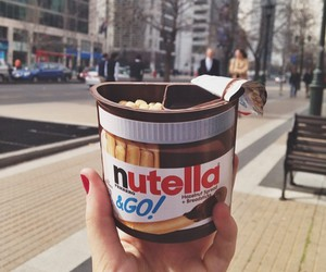food and nutella image