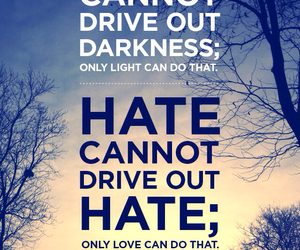 Darkness, hate, and light image
