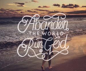 bible, calligraphy, and god image