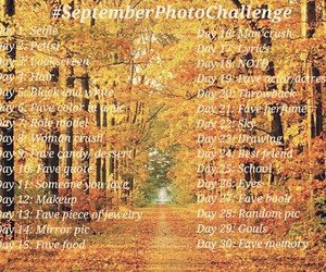 challenge, photo, and September image