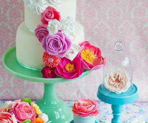 baking, birthday cake, and cakes image