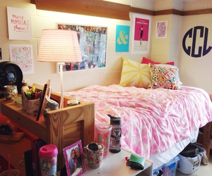 beautiful, bed, and dorm image